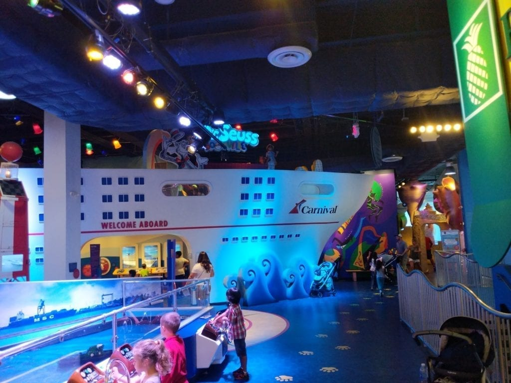 Carry on with kids at Miami Children's Museum